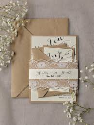 wedding invitations lace rustic lace wedding invitations 20 calligraphy wedding
