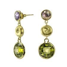 Cascading Bead Chandelier Earrings Express Fashion Earrings Ava U0027s Box