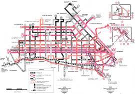 Bus Map Los Angeles by Los Angeles Rtd U2013 A Bus Chaser U0027s Dream