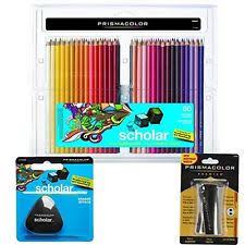 prismacolor scholar colored pencils prismacolor scholar 60 colored pencils set 92808ht ebay
