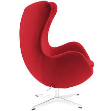 amazon com modway glove wool lounge chair in red kitchen u0026 dining