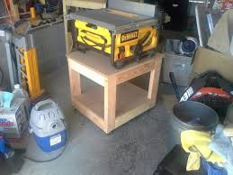 diy table saw stand with wheels plans for table saw stand kreg owners community