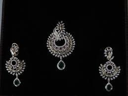 designer diamond sets designer diamond pendant set view specifications details of
