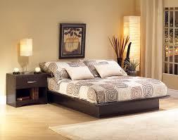 bedroom wood headboard and frame simple wood platform bed frame