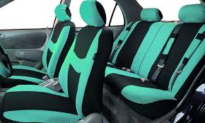 Auto Seat Upholstery Light And Breezy Car Seat Cover Combo Set 14 Piece Groupon
