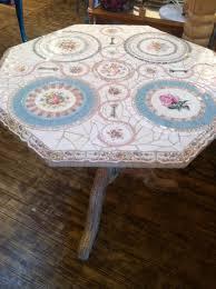 Diy Mosaic Table Mosaic Table Of Recycled Vintage China By Brenda Mason Boho Circus
