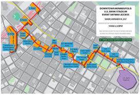 Light Rail Map Minneapolis Minnesota Vikings Public Transportation At U S Bank Stadium