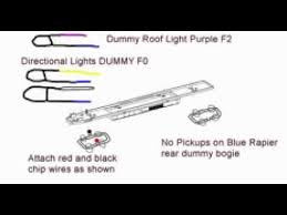 how to install dcc digital chip into hornby blue rapier railroad