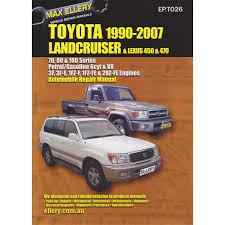 max ellery car manual toyota landcruiser 1990 2007 ep t026