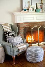 domestic fashionista updated fireplace decor and loving the home