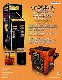 bandai namco amusement america arcade game pac man u0027s arcade