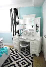 Blue And Black Rug Vanities Vintage Bedroom Decorating Ideas For Teenage Girls With