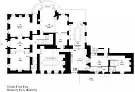 melmerby hall architectural floor plans pinterest