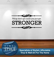 wall decals stickers home decor home furniture diy things dont get easier inspirational quote decor sticker wall art colours