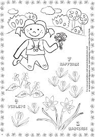 spring activity worksheets for kids kids crafts and crafts for