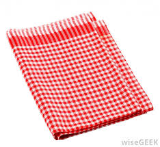 what is a kitchen towel with pictures