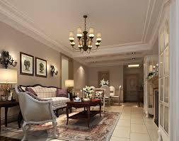 modern design light fully furnished living room 3d model max