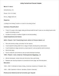 Life Coach Resume Sample by 51 Teacher Resume Templates U2013 Free Sample Example Format