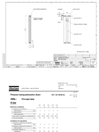 air dryer atlas copco cd 12 01 technical 1154207 1 00