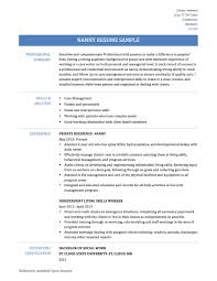 Nanny Resume Example by 98 Nanny Resume Template Personal Resume Templates 6