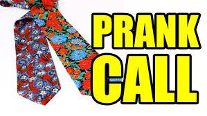 50 tacky tie prank call