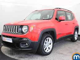 jeep renegade hatchback used or nearly new jeep renegade 1 4 multiair longitude 5dr red