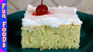 tres leches cake how to make a tres leches cake youtube