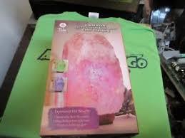 ebay himalayan salt l tula wellness himalayan salt crystal usb color changing l