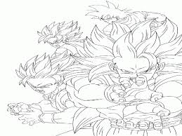 dragon ball z coloring pages bardock and goku kid kamehema best