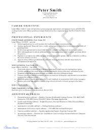 mortgage advisor cover letter loan officer resume s peppapp