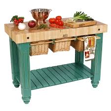 John Boos Kitchen Island by Gourmet Butcher Blocks Gathering Block Iii 48