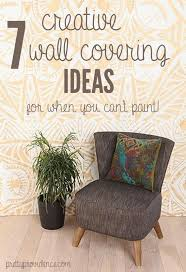 Ideas For Apartment Walls Temporary Wall Coverings 7 Great Ideas For When You Can T Paint