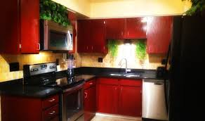 red kitchen furniture be brave to apply espresso kitchen cabinets with granite roy