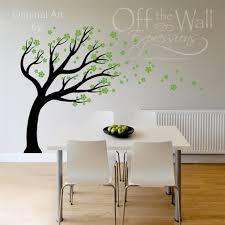 wall art design ideas green colored vinyl wall art ideas