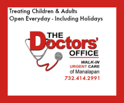 the doctors office urgent care in manalapan open thanksgiving
