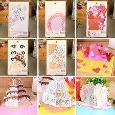 wedding scrapbook supplies pop up birthday card 3d birthday wedding decoration diy