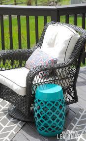 Diy Outdoor Furniture Spring Deck Refresh U0026 Outdoor Living Update Making Lemonade