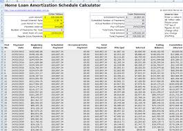 Excel Template Loan Amortization Free Mortgage Home Loan Amortization Calculator