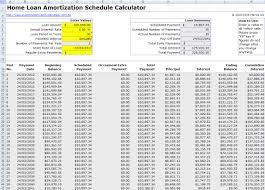 Excel Mortgage Calculator Template Free Mortgage Home Loan Amortization Calculator