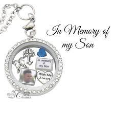 in loving memory lockets in memory of my memorial floating locket charm set custom