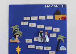 nativity advent calendar diy nativity advent countdown tutorial pattern so festive