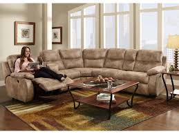 Reclining Sectional Sofas by Franklin Eclipse Collection 499 Reclining Sectional Sofa With 2