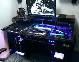 Computer Desk Built In Computer Built Into A Desk Computer Desk Built In Power