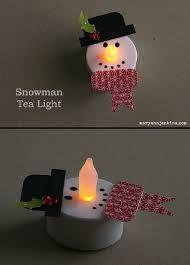 Light Up Snowman Outdoor Best 25 Tea Lights Ideas On Pinterest Diy Christmas Ornaments