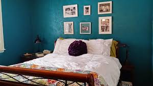 pinsperation bedroom makeover with essential teal paint