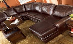 Brown Leather Sectional Sofa With Chaise Couches Living Room Design Jcpenney Couches Sectional Leather
