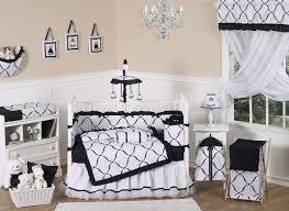 princess black and white crib bedding collection