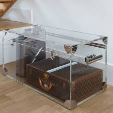 wonderful acrylic trunk coffee table 20 about remodel online with