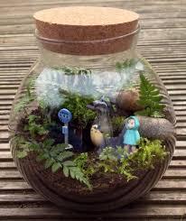 recycled glass medium ivysaur pokemon terrarium moss by maforet