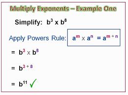 multiplying algebra exponents passy u0027s world of mathematics
